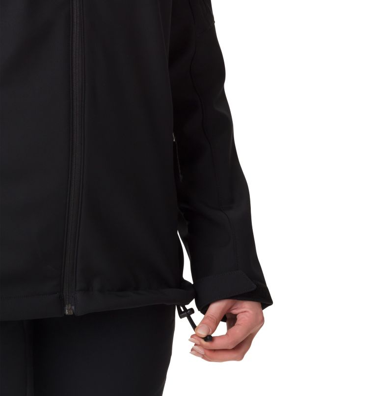 Cascade Ridge™ Jacket | 010 | L Softshell Cascade Ridge™ Femme , Black, a4