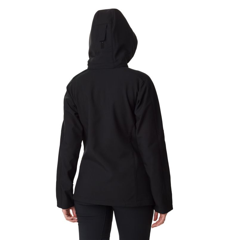 Cascade Ridge™ Jacket | 010 | L Softshell Cascade Ridge™ Femme , Black, back