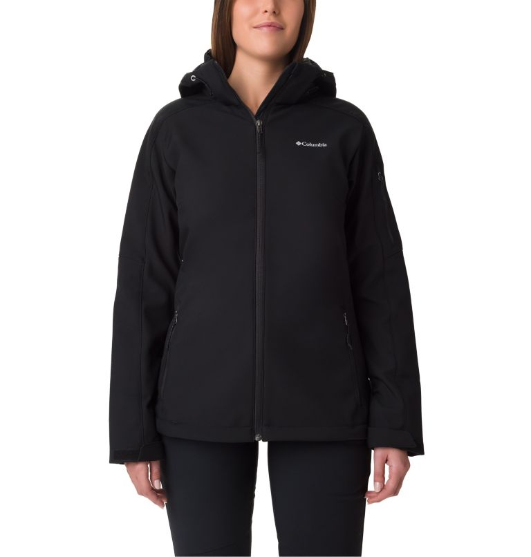 Cascade Ridge™ Jacket | 010 | L Softshell Cascade Ridge™ Femme , Black, front