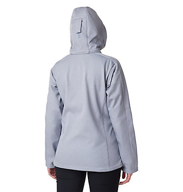 Women's W Cascade Ridge™ Jacket  Cascade Ridge™ Jacket | 032 | M, Tradewinds Grey Heather, back