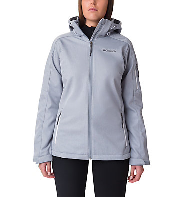 Women's W Cascade Ridge™ Jacket  Cascade Ridge™ Jacket | 032 | M, Tradewinds Grey Heather, front