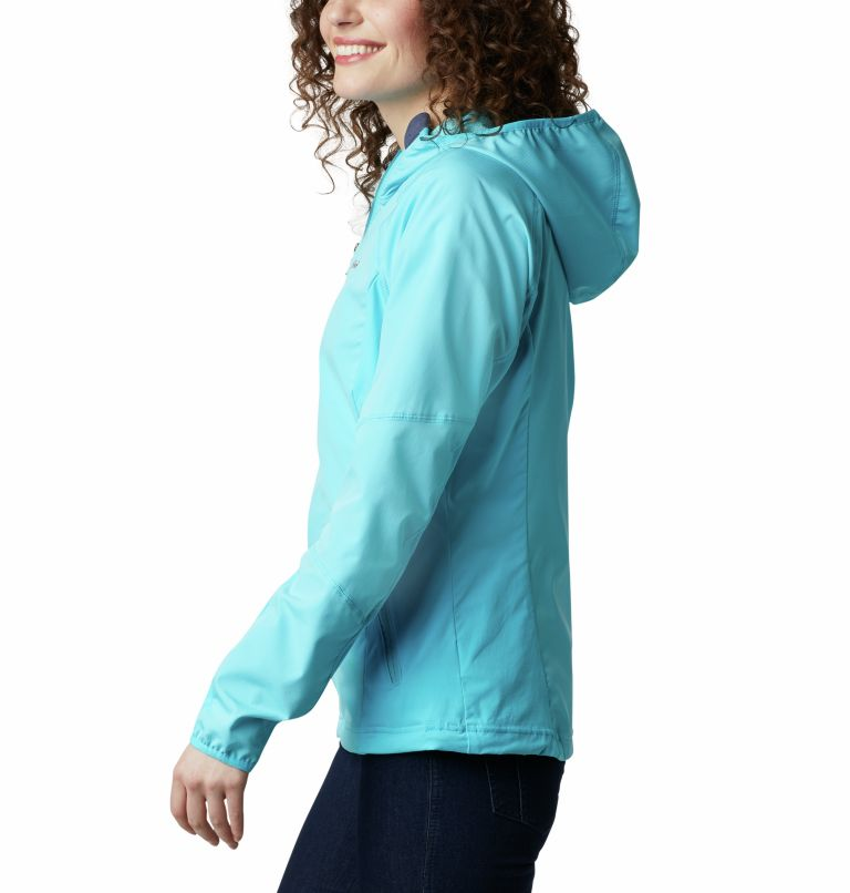 Sweet As™ Softshell Hoodie | 405 | XS Women's Sweet As™ Softshell Hoodie, Atoll, a1