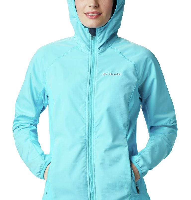 Sweet As™ Softshell Hoodie | 405 | XS Women's Sweet As™ Softshell Hoodie, Atoll, a2