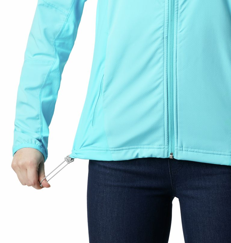 Sweet As™ Softshell Hoodie | 405 | XS Women's Sweet As™ Softshell Hoodie, Atoll, a3