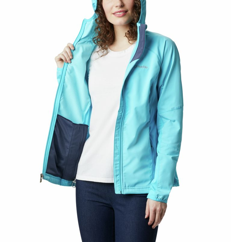 Sweet As™ Softshell Hoodie | 405 | XS Women's Sweet As™ Softshell Hoodie, Atoll, a4