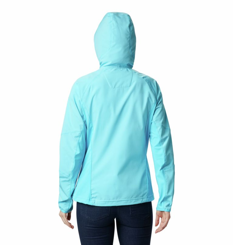 Sweet As™ Softshell Hoodie | 405 | XS Women's Sweet As™ Softshell Hoodie, Atoll, back