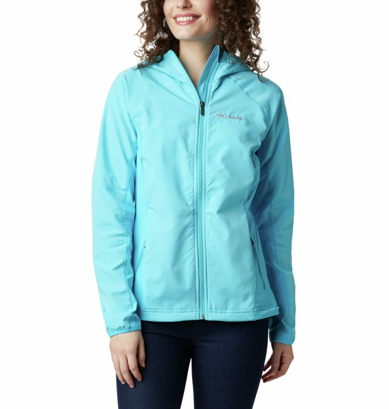 Sweet As™ Softshell Hoodie | 405 | XS Women's Sweet As™ Softshell Hoodie, Atoll, front