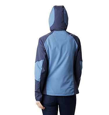 Women's Sweet As™ Softshell Hoodie Sweet As™ Softshell Hoodie | 633 | L, Blue Dusk, Nocturnal, back