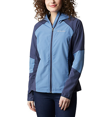 Veste Softshell Sweet As™ Femme Sweet As™ Softshell Hoodie | 633 | L, Blue Dusk, Nocturnal, front