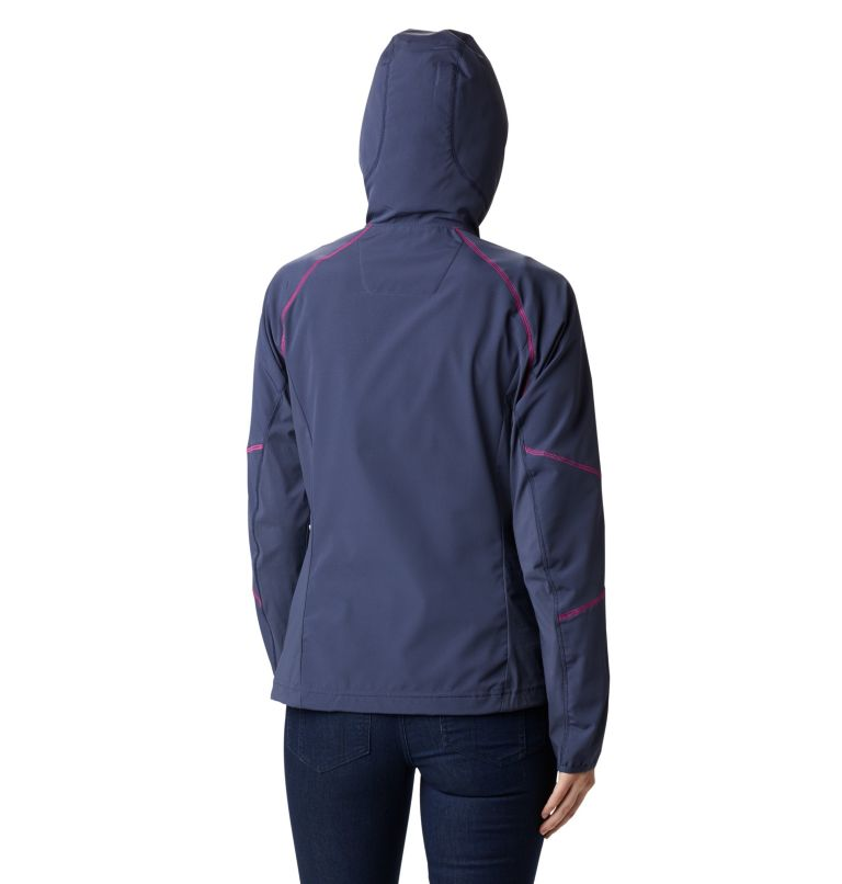 Women's Sweet As™ Softshell Hoodie Women's Sweet As™ Softshell Hoodie, back