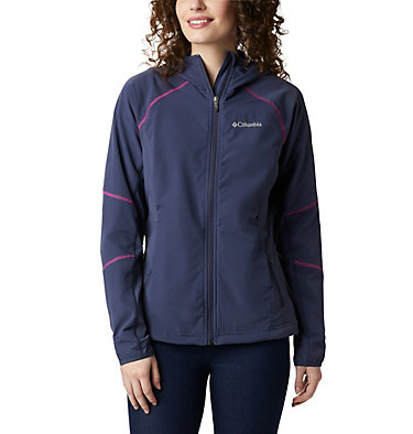 Women's Sweet As™ Softshell Hoodie Sweet As™ Softshell Hoodie | 633 | L, Nocturnal, front