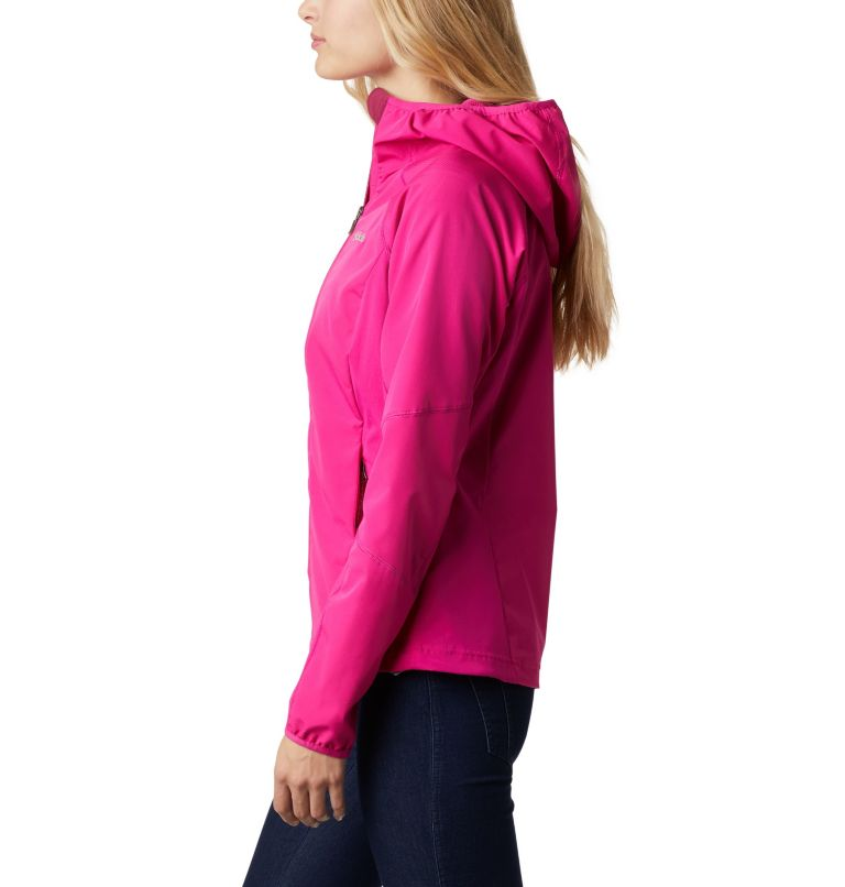 Sweet As™ Softshell Hoodie | 628 | S Women's Sweet As™ Softshell Hoodie, Haute Pink, a1