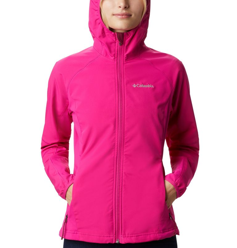 Sweet As™ Softshell Hoodie | 628 | S Women's Sweet As™ Softshell Hoodie, Haute Pink, a2