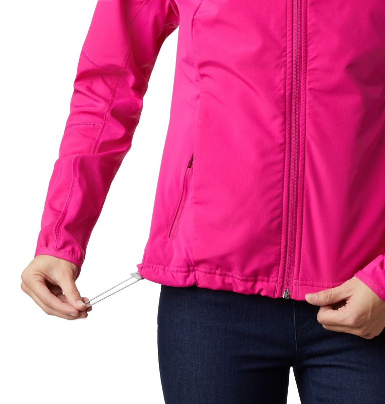Sweet As™ Softshell Hoodie | 628 | S Women's Sweet As™ Softshell Hoodie, Haute Pink, a4