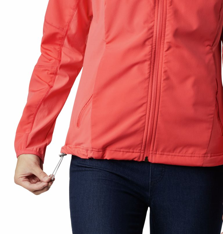 Sweet As™ Softshell Hoodie | 633 | S Women's Sweet As™ Softshell Hoodie, Red Coral, a4