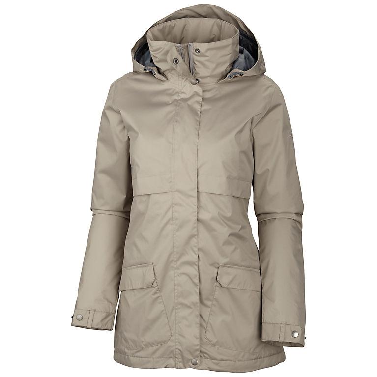 ladies Womens Semi Fleece Lined Winter Waterproof Coat Jacket Size 12 to 24