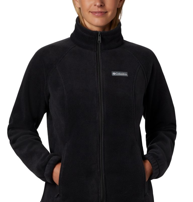 Benton Springs™ Full Zip | 010 | XL Women's Benton Springs™ Full Zip Fleece Jacket, Black, a1