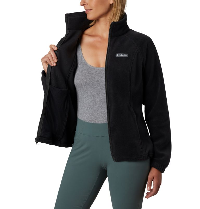 Benton Springs™ Full Zip | 010 | XL Women's Benton Springs™ Full Zip Fleece Jacket, Black, a2