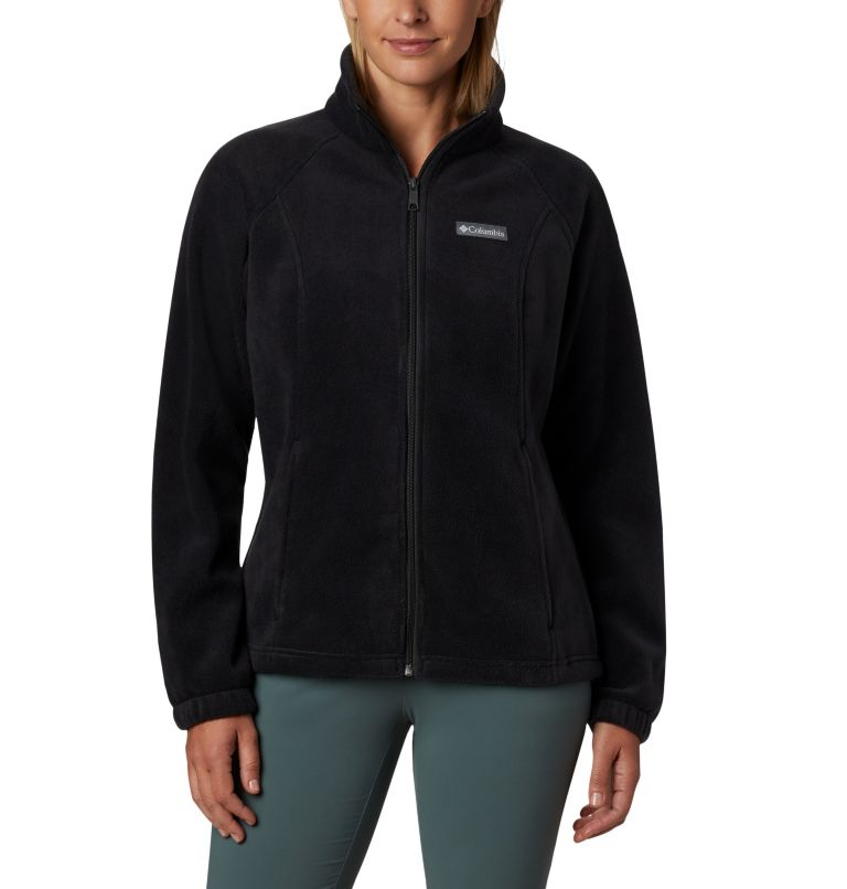 Benton Springs™ Full Zip | 010 | XL Women's Benton Springs™ Full Zip Fleece Jacket, Black, front