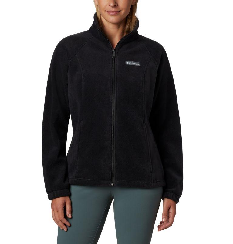 Benton Springs™ Full Zip | 010 | XL Women's Benton Springs™ Full Zip Fleece Jacket, Black, front