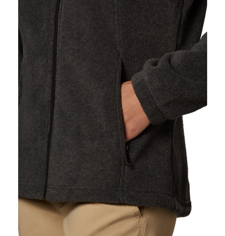 Benton Springs™ Full Zip | 030 | M Women's Benton Springs™ Full Zip Fleece Jacket, Charcoal Heather, a4