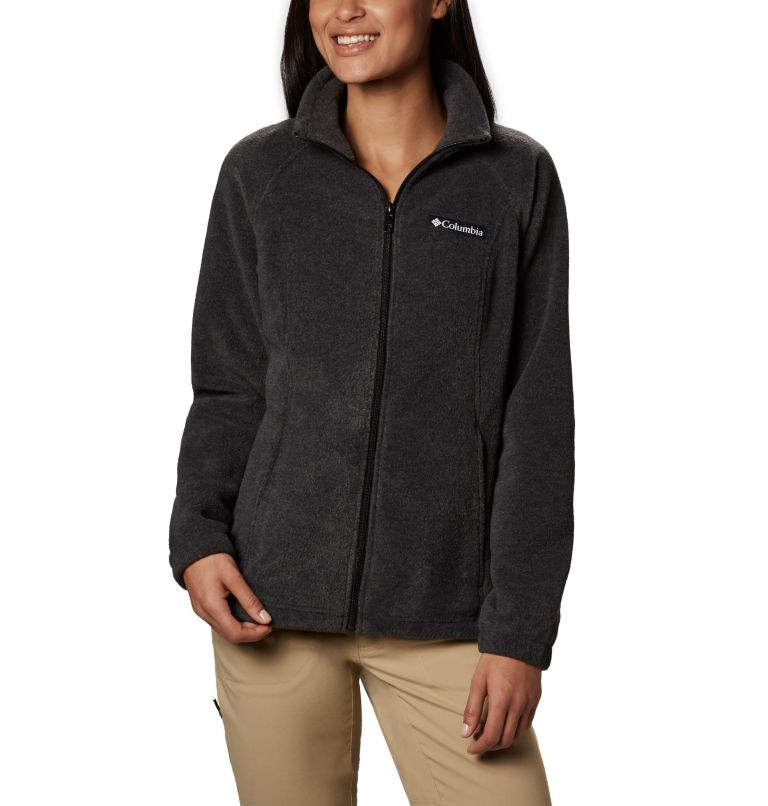 Benton Springs™ Full Zip | 030 | M Women's Benton Springs™ Full Zip Fleece Jacket, Charcoal Heather, front