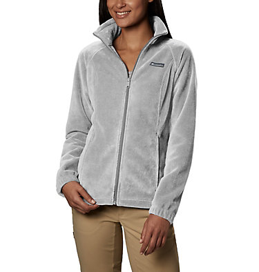 Women's Benton Springs™ Full Zip Fleece Jacket Benton Springs™ Full Zip | 619 | L, Cirrus Grey Heather, front