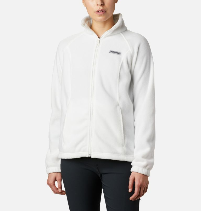 Benton Springs™ Full Zip | 125 | XXL Women's Benton Springs™ Full Zip Fleece Jacket, Sea Salt, front