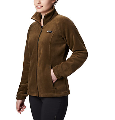 Women's Benton Springs™ Full Zip Fleece Jacket Benton Springs™ Full Zip | 619 | L, Olive Green, front