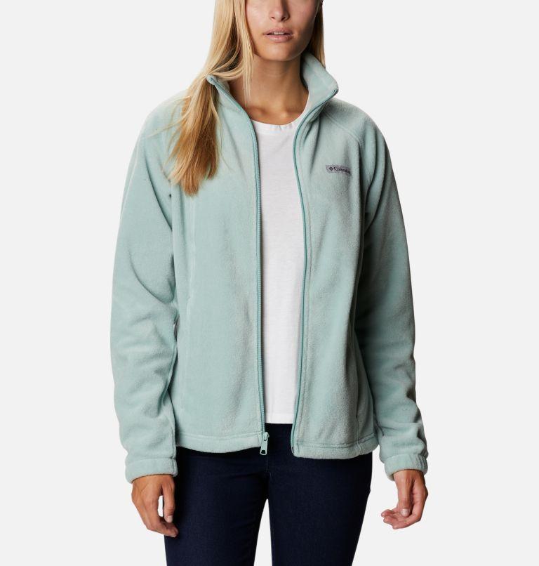 Benton Springs™ Full Zip | 346 | S Women's Benton Springs™ Full Zip Fleece Jacket, Aqua Tone, front