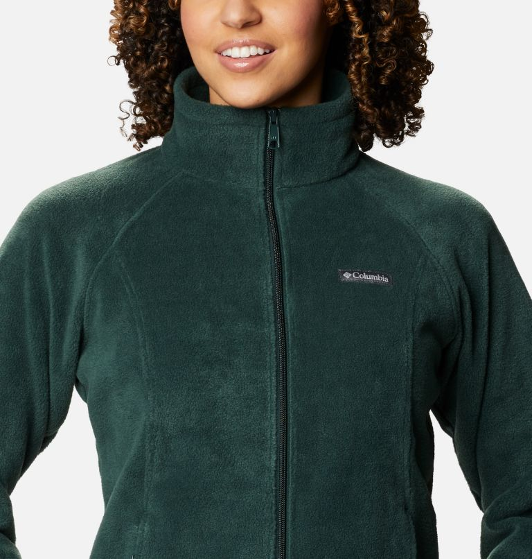 Benton Springs™ Full Zip | 370 | L Women's Benton Springs™ Full Zip Fleece Jacket, Spruce, a2