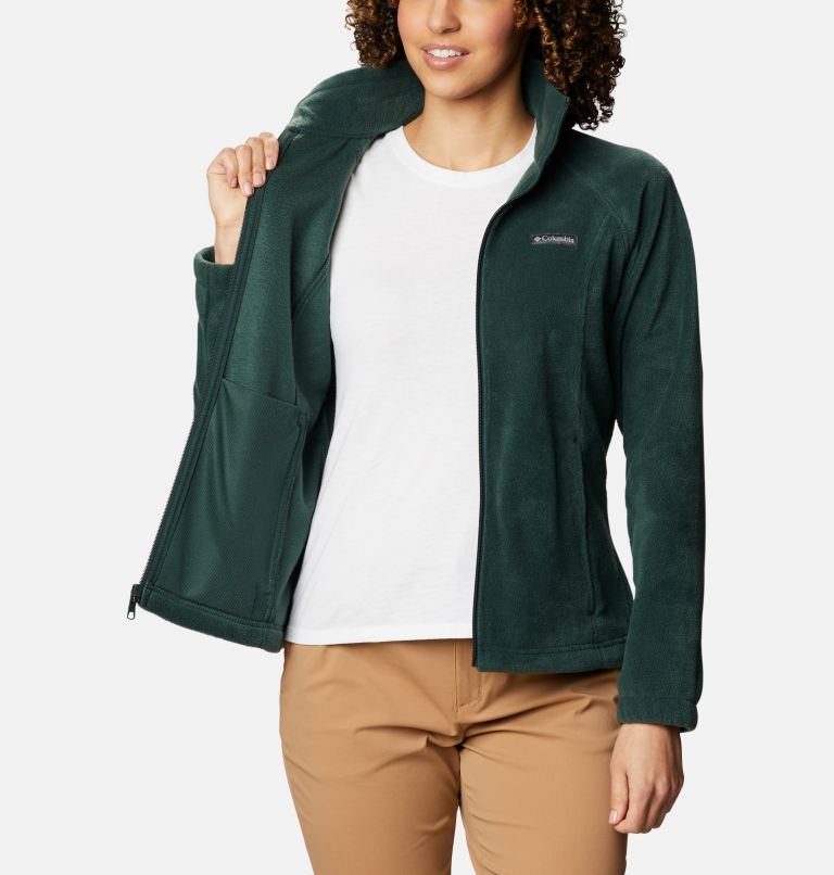 Benton Springs™ Full Zip | 370 | L Women's Benton Springs™ Full Zip Fleece Jacket, Spruce, a3