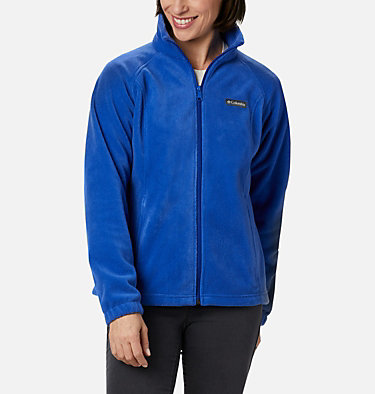 Women's Benton Springs™ Full Zip Fleece Jacket Benton Springs™ Full Zip | 671 | L, Lapis Blue, front