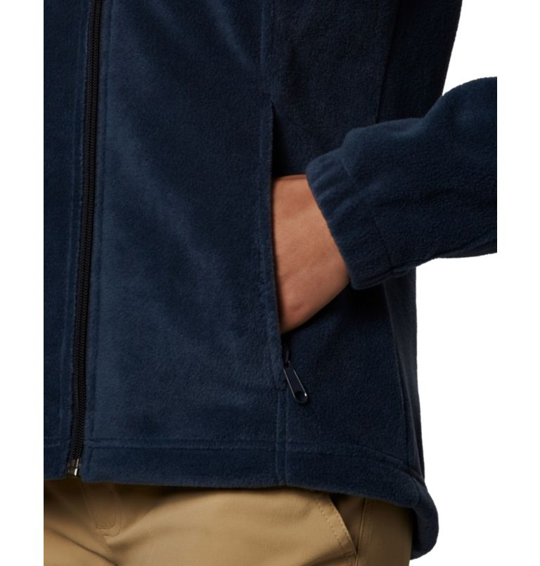 Benton Springs™ Full Zip | 425 | S Women's Benton Springs™ Full Zip Fleece Jacket, Columbia Navy, a2