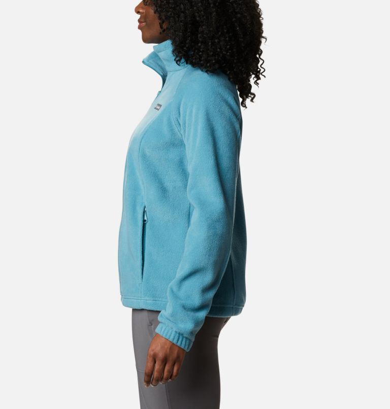 Benton Springs™ Full Zip | 430 | M Women's Benton Springs™ Full Zip Fleece Jacket, Canyon Blue, a1