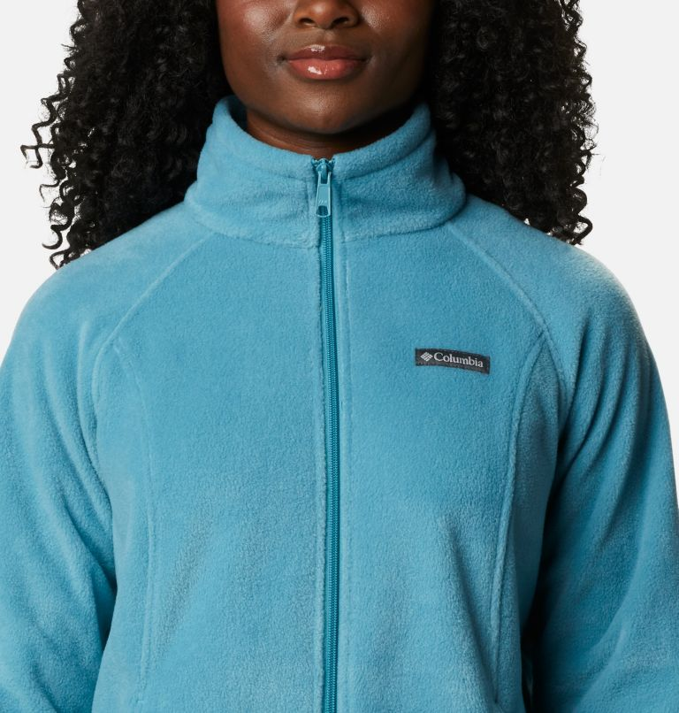 Benton Springs™ Full Zip | 430 | S Women's Benton Springs™ Full Zip Fleece Jacket, Canyon Blue, a2