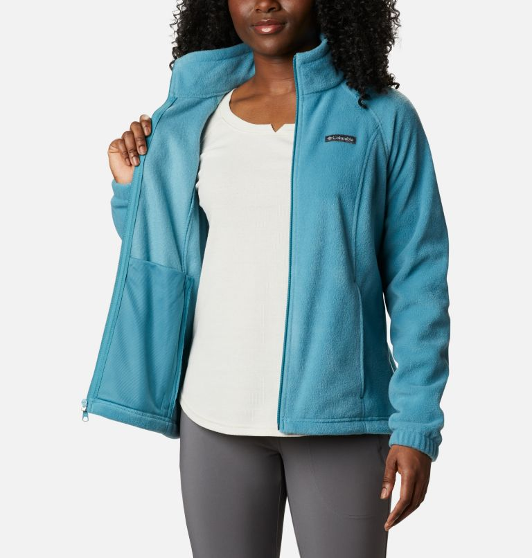 Benton Springs™ Full Zip | 430 | M Women's Benton Springs™ Full Zip Fleece Jacket, Canyon Blue, a3
