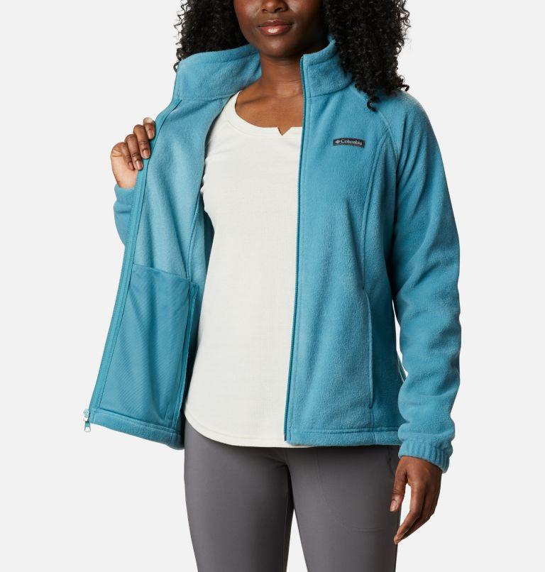 Benton Springs™ Full Zip | 430 | S Women's Benton Springs™ Full Zip Fleece Jacket, Canyon Blue, a3