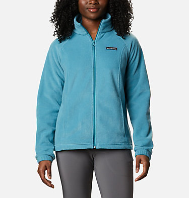 Women's Benton Springs™ Full Zip Fleece Jacket Benton Springs™ Full Zip | 619 | L, Canyon Blue, front