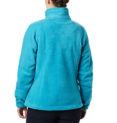 Women's Benton Springs™ Full Zip Fleece Jacket Benton Springs™ Full Zip | 619 | L, Clear Water, back
