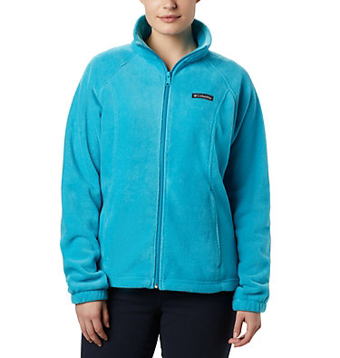 Women's Benton Springs™ Full Zip Fleece Jacket Benton Springs™ Full Zip | 619 | L, Clear Water, front