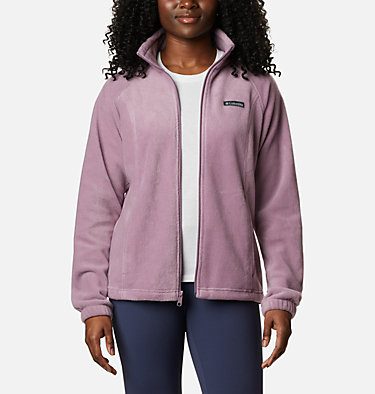 Women's Benton Springs™ Full Zip Fleece Jacket Benton Springs™ Full Zip | 671 | L, Winter Mauve, front