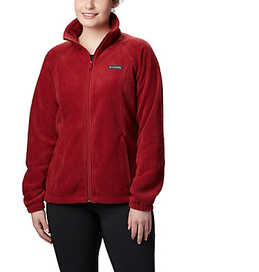 Women's Benton Springs™ Full Zip Fleece Jacket Benton Springs™ Full Zip | 619 | L, Beet, front