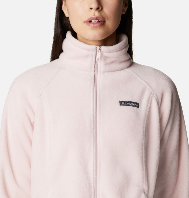 Benton Springs™ Full Zip | 618 | M Women's Benton Springs™ Full Zip Fleece Jacket, Mineral Pink, a2