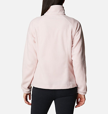 Women's Benton Springs™ Full Zip Fleece Jacket Benton Springs™ Full Zip | 619 | L, Mineral Pink, back