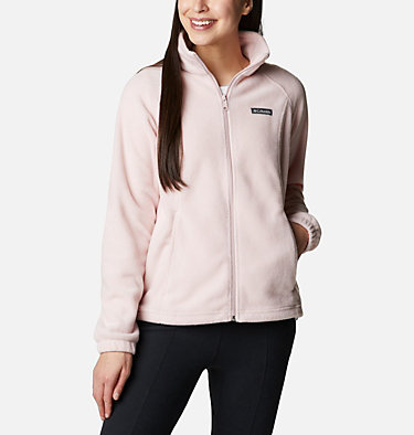 Women's Benton Springs™ Full Zip Fleece Jacket Benton Springs™ Full Zip | 619 | L, Mineral Pink, front