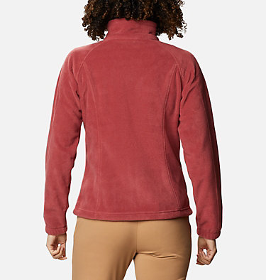 Women's Benton Springs™ Full Zip Fleece Jacket Benton Springs™ Full Zip | 619 | L, Marsala Red, back