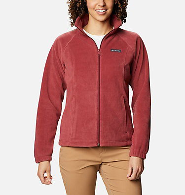 Women's Benton Springs™ Full Zip Fleece Jacket Benton Springs™ Full Zip | 619 | L, Marsala Red, front
