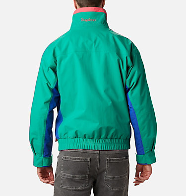Manteau imperméable Interchange Bugaboo 1986 pour homme Bugaboo™ 1986 Interchange Jacket | 374 | S, Emerald Green, Lapis, Bright Geranium, back