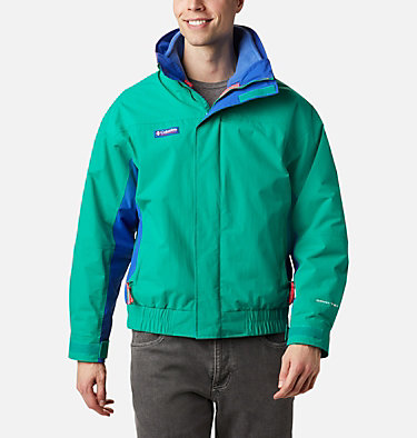 Manteau imperméable Interchange Bugaboo 1986 pour homme Bugaboo™ 1986 Interchange Jacket | 374 | S, Emerald Green, Lapis, Bright Geranium, front